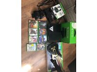 Xbox one console and extras