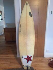 Custom made surfboard for sale (6'4)