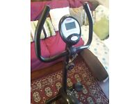 York 101 Exercise Cycle/Bike - Black - MINT CONDITION - ONLY £75