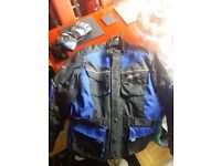 RST Urban Textile Jacket & Gloves - Size XL