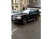 Superb Range Rover full Overfinch conversion Lpg converted private plate included