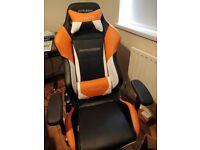 DXRacer Drift Series - Orange and Black