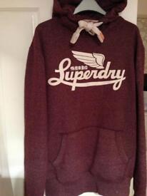 Superdry hoodie small