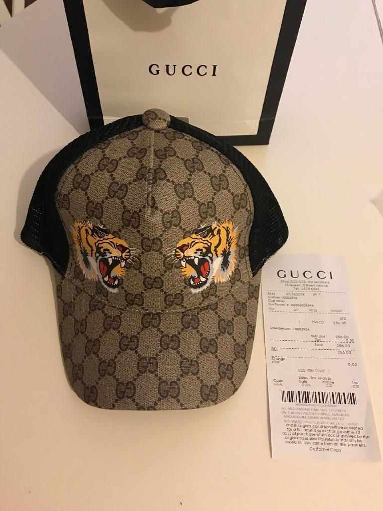 64f717a4d1f Gucci Caps with Two Tigers