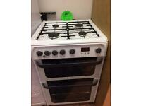 Hotpoint gas cooker rrp 499 selling at £189 delivered