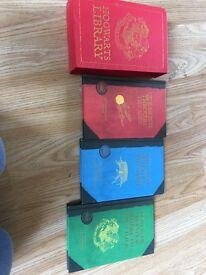 Harry Potter hogwarts library
