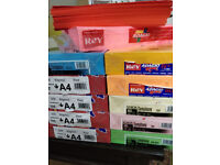 14 Reams of A4 Coloured Paper for sale ** ABSOLUTE BARGAIN **