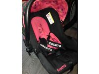 Beatiuful car seat exllcent condion