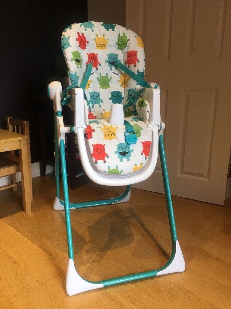 Cosatto Moster Mash Folding High Chair from non smoking household £50 ONO can deliver if close