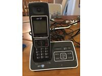 BT CORDLESS PHONE AND ANSWERING MACHINE