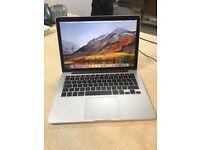 Apple Macbook Pro 13 inch Retina Display, Mid 2014, 2.6Ghz i5, 8GB ram, 128GB ssd