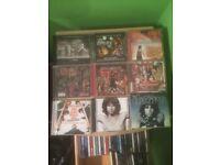Music CDs rock, punk, etc