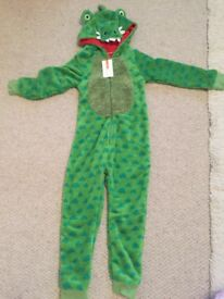 BNWT Green Crocodile Onesie