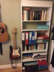 White Billy Bookcase 80x28x202cm