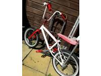 2 kids bikes suitable for ages 5yrs up deliver for fuel Newcastle no time wasters
