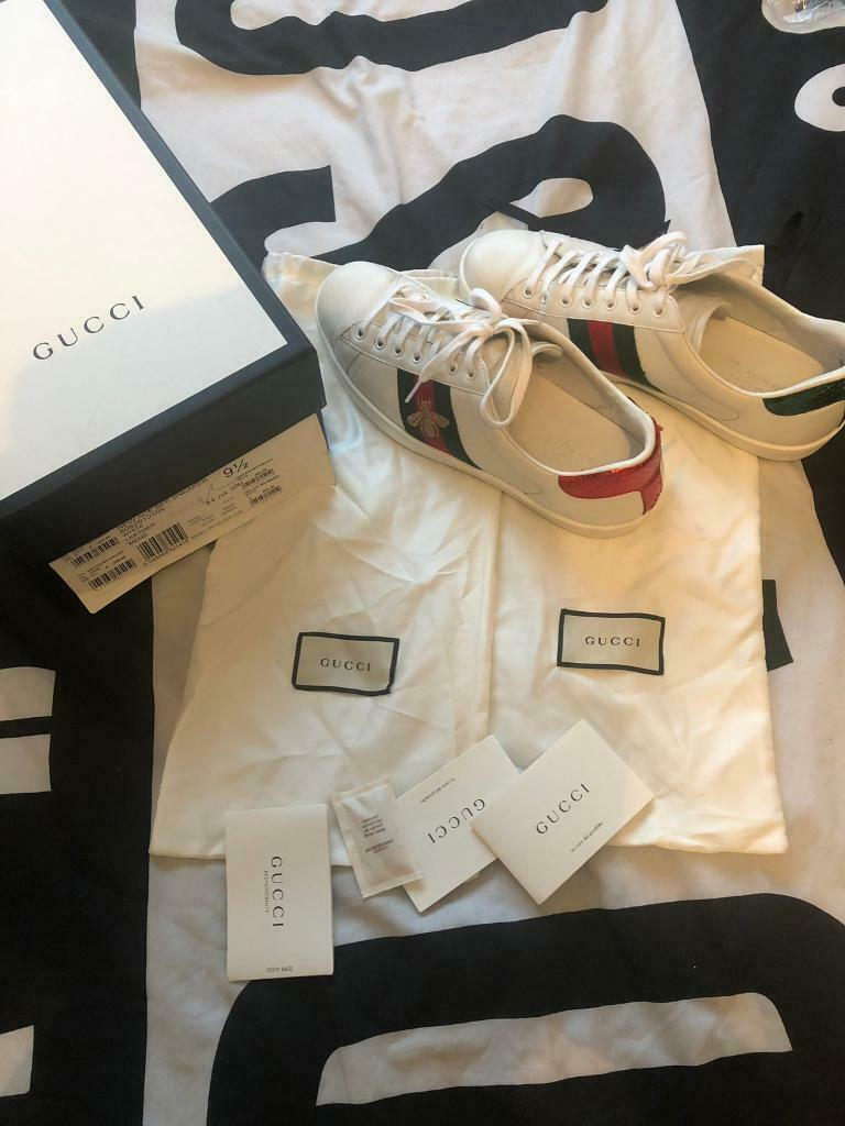 735c3dcd6 Gucci Ace Embroidered Bee trainers 9.5uk will fit 9/10 | in Bromley ...