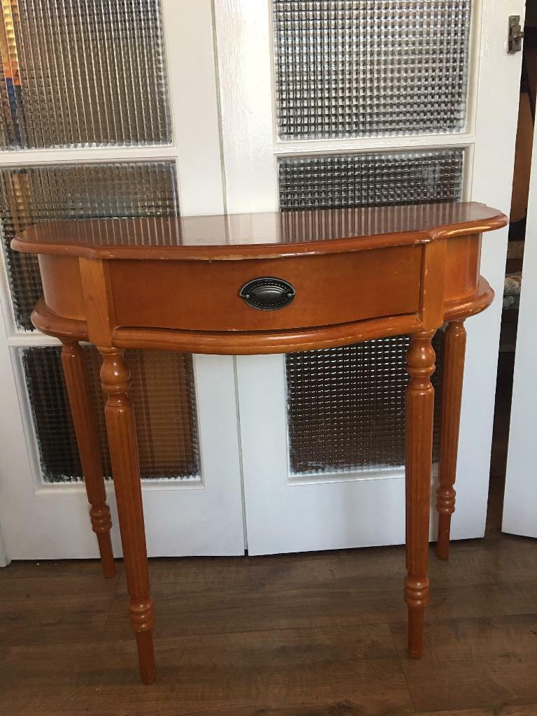 REGENCY CONSOLE TABLE FREE DELIVERY