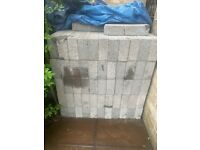 72 Concrete Breeze Blocks 440 x 210 x 100 7.3N brand new never used