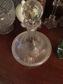 Tyrone crystal decanter