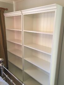 Two matching book shelves for sale