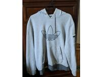 Adidas originals hooded sweatshirt XL grey