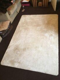 Cream rug and runner