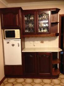 Complete Kitchen worktops, drawers, cupboards dishwasher and fridge
