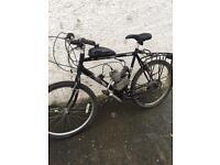 80cc motorised bicycle. Not pitbike