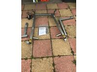 NWS Ultimoto motorbike stand front & back Used