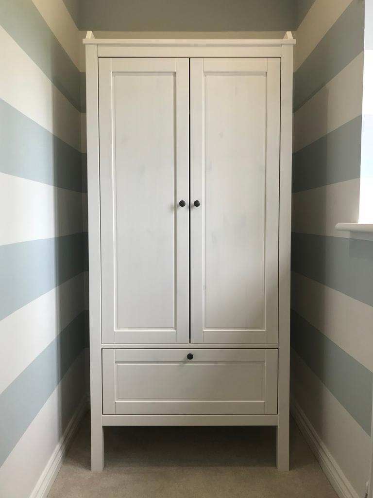 Ikea Sundvik Wardrobe In Perfect Condition In Abingdon