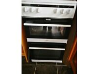 Amica 508TEE1W 50cm, Electric Twin Cavity Cooker, in White