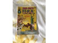 Sad Sack USA #1 1972 Harvey Comics original