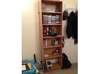 Tall Shelving Unit - 6 Adjustable Shelves