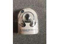 BNIB Medion HD webcam with headset