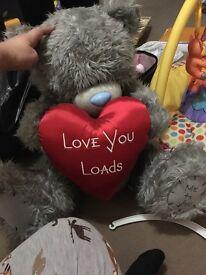 Me to you big teddy