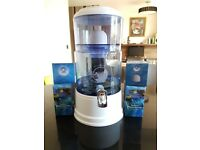 AcalaQuell SMART Gravity Water Filter (8L) + Extras (ono)