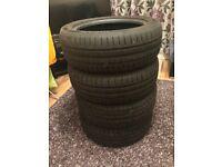 4 Car Tyres 195/55 R16