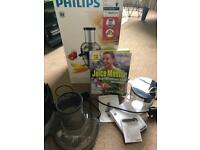 Philips Juicer and Jason Vale book
