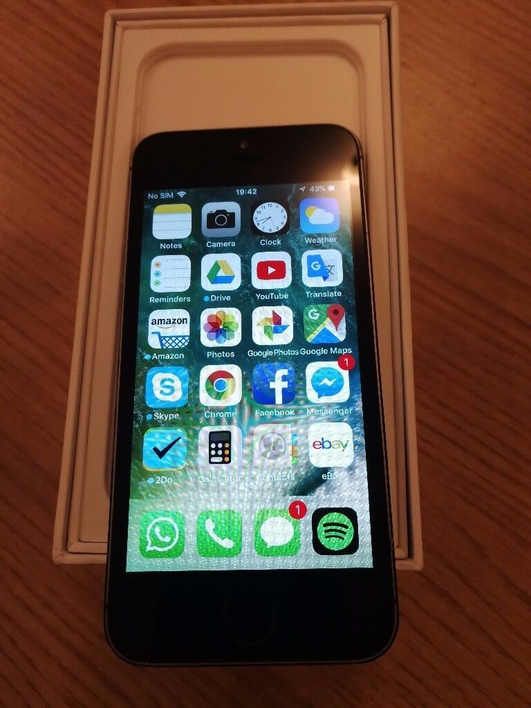 iPhone 5s Rose Black Unlocked Excellent Condition 16GB