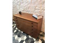 Schrieber vintage chest of drawers