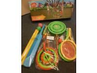 Children's sport bundle toys(Chad Valley)