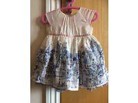 M&S baby girl dress 3-6 months