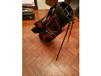 New Dunlop 5 Way Dual Strap Stand Mens Golf Bag