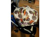 Bugaboo bee 3 andy warhol transport hood and tote