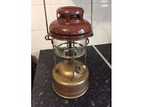 Tilley Pork Pie Paraffin Pressure Lamp Late 1940's