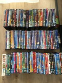 102 DISNEY DVDS FOR SALE