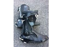 SOLD SOLD SOLD Motor bike boots size 9-10