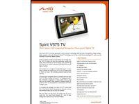 Mio Spirit M575 Sat Nav with Freeview TV