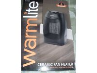 CERAMIC FAN HEATER (Brand New & Boxed)