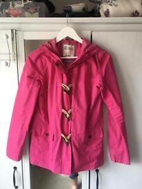 FAT FACE pink lightweight jacket/coat